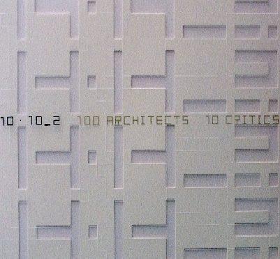 100 architectes réunis dans un livre